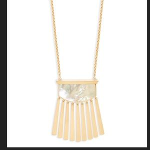 NWT Kendra Scott Mother of Pearl Ellen Necklace